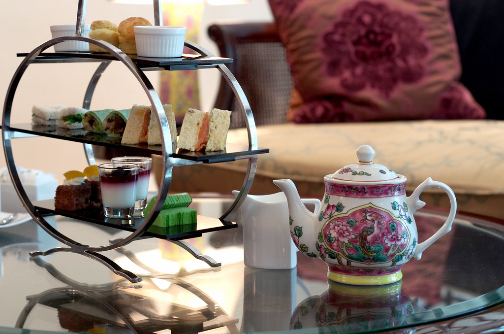 afternoon tea in club intercontinental singapore