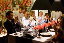 Culinary Capers Event Dinner by Design