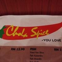 JJCM :- Chola Spice, Pavilion