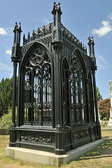 James Monroes Iron Cage and Concrete Sarcophagus