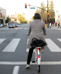 San Jose bike commuter