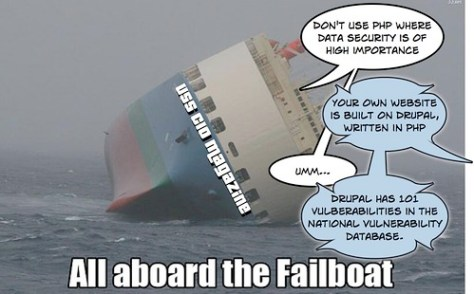 Failboat, meet security.