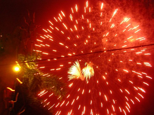 Fireworks @ Chaweng, Koh Samui ?????(?????)
