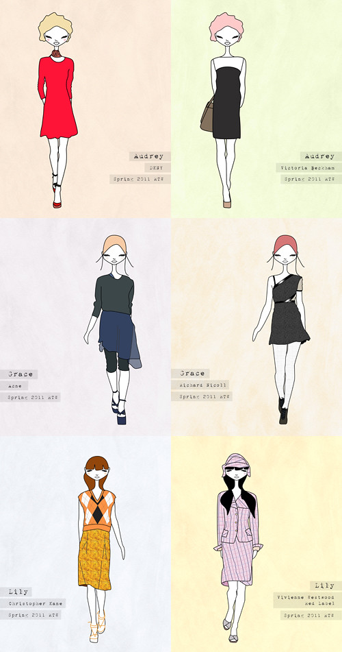 Melissa Jaine Fashion Illustrations