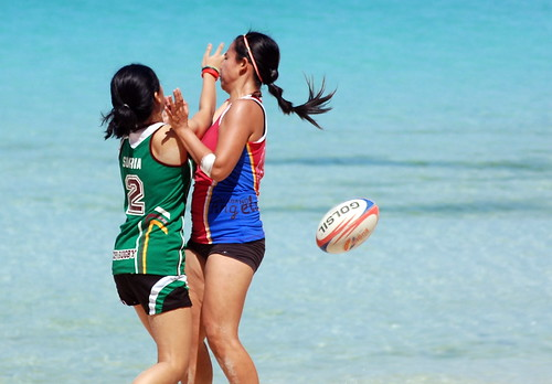 Nestea Fit Camp Hot Day 2 - Beach Sports Photography (30)