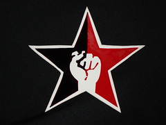 Black and Red Star of Anarcho-Syndicalism