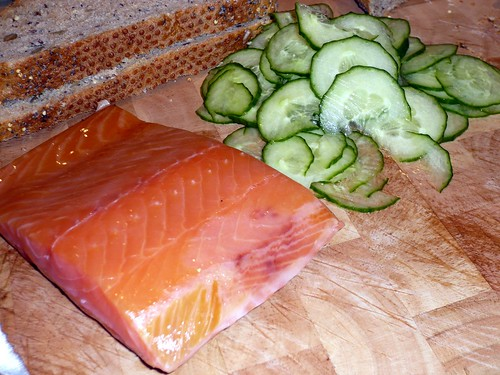 Frank Hederman Smoked Salmon and Pickled Cucumber