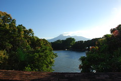 Volcan Mombacho from the Spanish fort