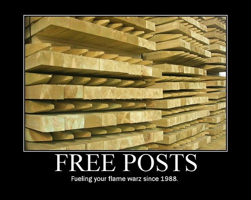 Flame Wars: The free post