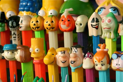 Flintstones, Peanuts, Garfield Pez