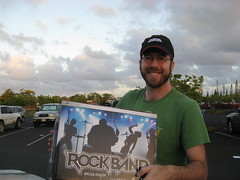 The only copy of Rock Band on Kauai