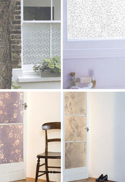 Stylish Window Decals - Peel and Stick!
