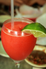 talia's strawberry margarita