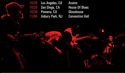 Glassjaw show dates
