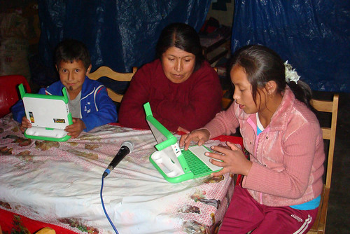 NAPA 26: OLPC, laptops en Arahuay