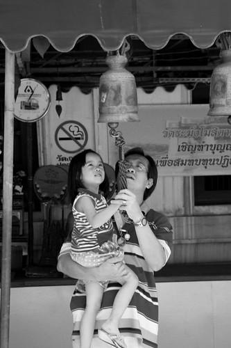 bell ringing, bangkok temples