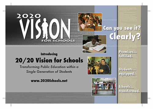 2020 Vision for Schools (Postcard Front)