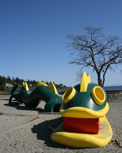 Dragon, Gyro Beach, Cadboro Bay, Victoria, BC-3
