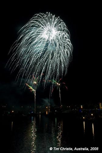 Speers Point Fireworks