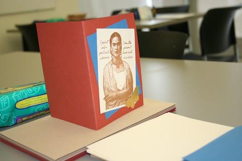 Frida card making station