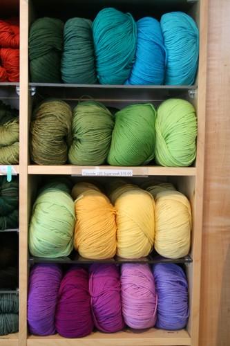 Pretty colors of soft super wash