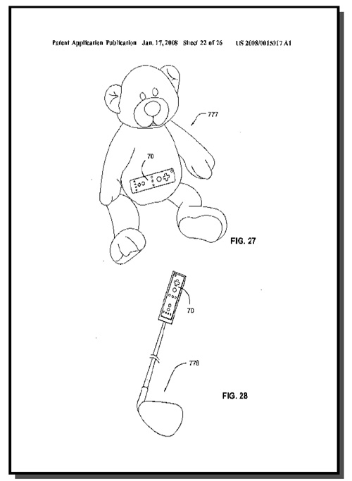 wiigolf-patent