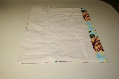 back of patchwork rug
