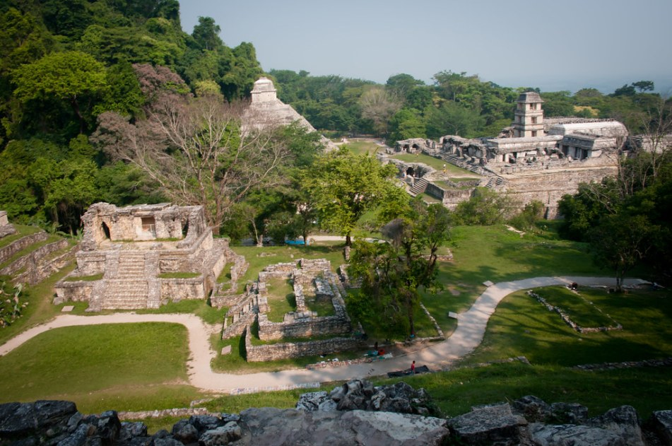 Palenque Ruins - Overview