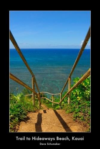 Trail to Hideaways Beach, Kauai