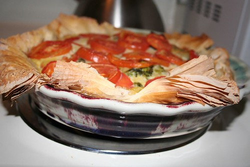 Deep dish pie -- it's what's for breakfast