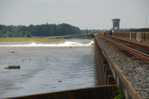 USACE opens Morganza Floodway