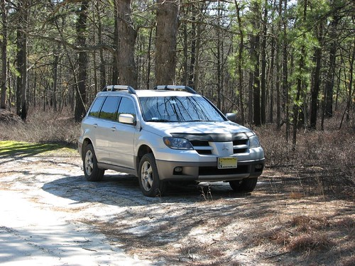 keithmobile in the pine barrens - front