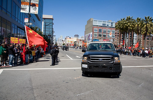 Olympic Torch in San Francisco