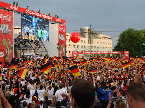 Fanzone in Berlin