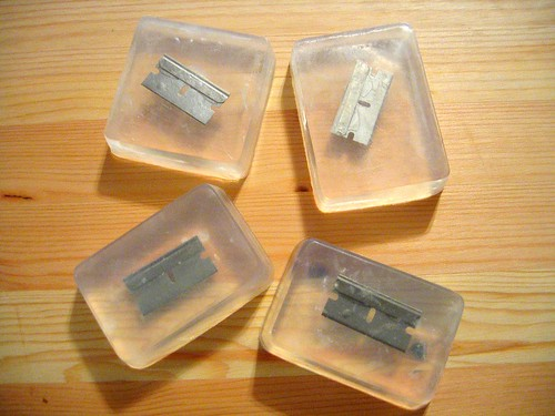 razorblade soap