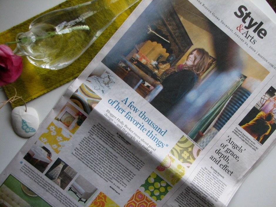 Thanks, Boston Globe