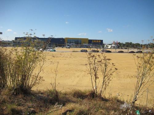 desertified land in Australia