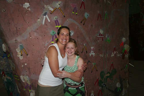 Maddy and me at her 11th birthday party