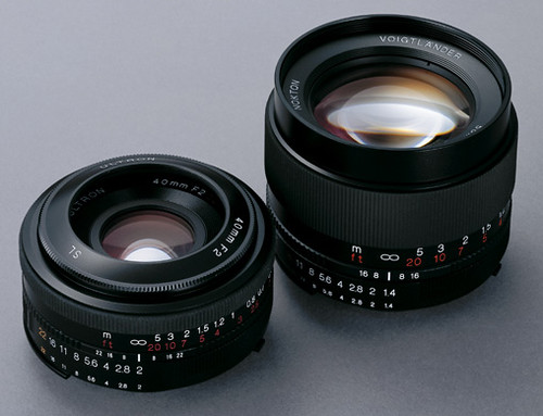 Cosina-Voigtlnder Lenses for Nikon/Pentax SLRs