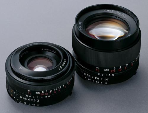Cosina-Voigtländer Lenses for Nikon/Pentax SLRs