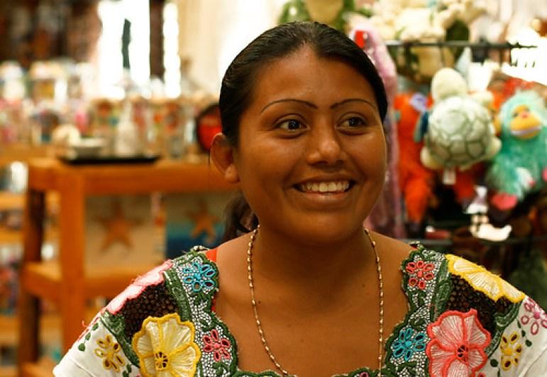 Maria (shopkeeper), Akumal, Mayan Riviera, Mexico copy