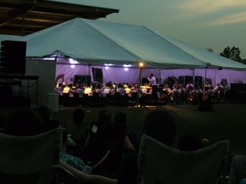 Alabama Symphony concert at Railroad Park 2011