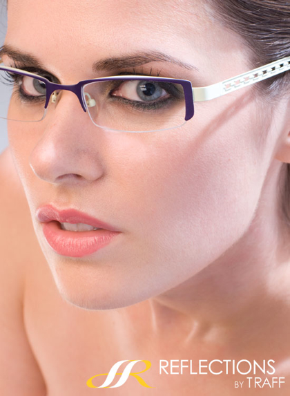 Lisa Bettany specs modeling-2
