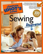 complete idiot's guide to sewing