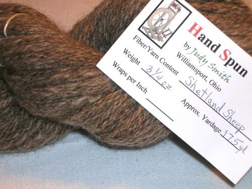 handspun - grayish brown 3