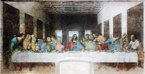 The Last Supper (1495-1498) by Leonardo Da Vinci