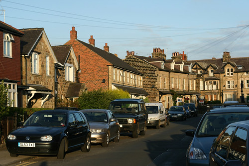 Street in Harrogate, UK