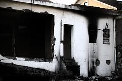 Casa bruciata in Lungo Dora 1