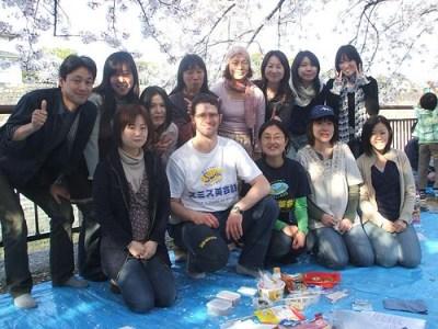 2008 Hanami at Osaka Castle Park