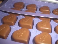 I love Milka Pralines Nuss Nougat Creme